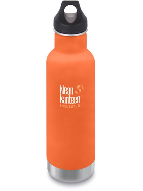 Klean Kanteen Classic Vacuum Insulated Bottle Loop Cap 592ml Sierra Sunset Matt
